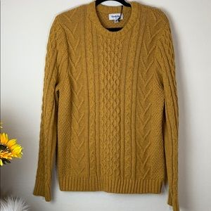 Goodfellow Sweater Cable Pullover Long sleeves